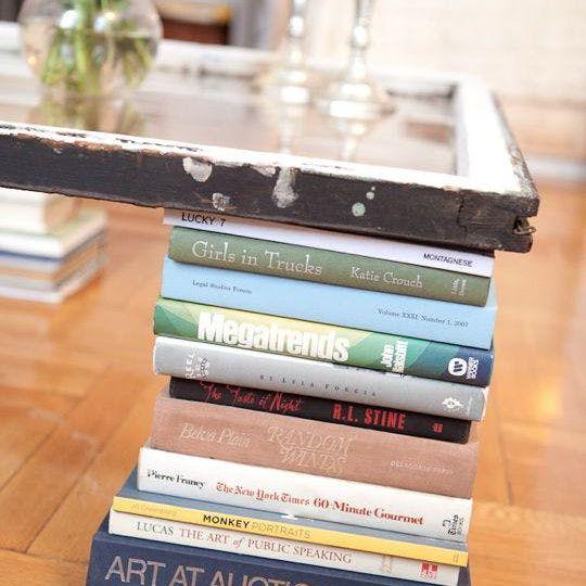 coffee table book display