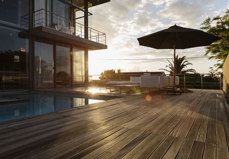 Wood Composite Deck