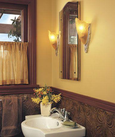 Baño Art Nouveau