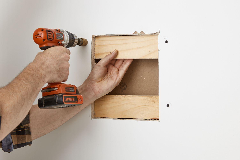 installing backing strips