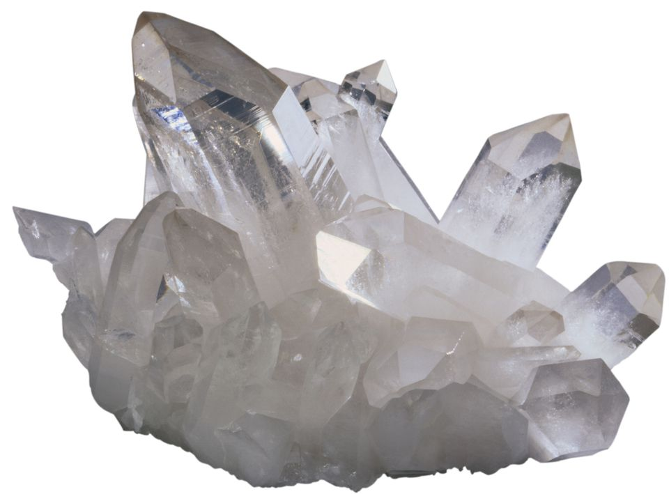 feng shui clear quartz crystal
