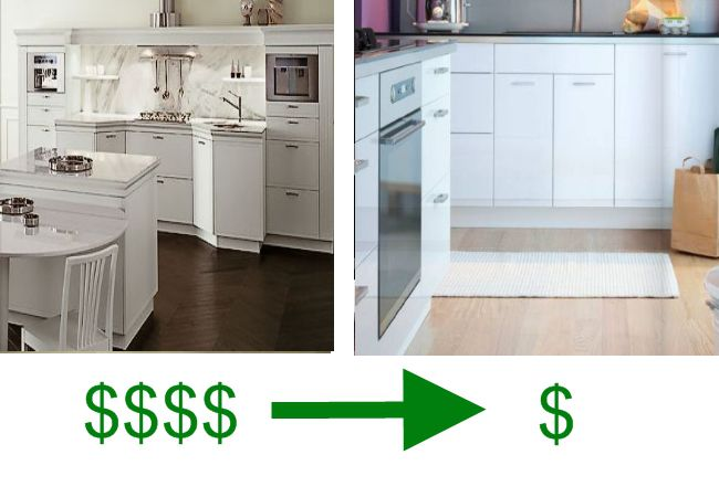 Comparing Snaidero To Ikea Euro Style Kitchen Cabinets