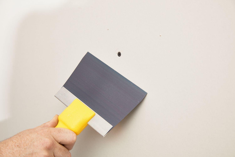preparing the drywall surface