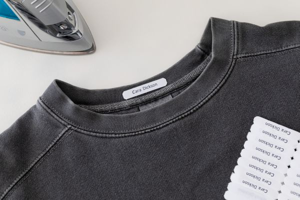 label on clothing