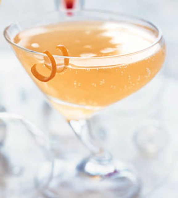 Ruby, grapefruit cocktail