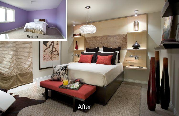 Cambio de imagen del dormitorio después