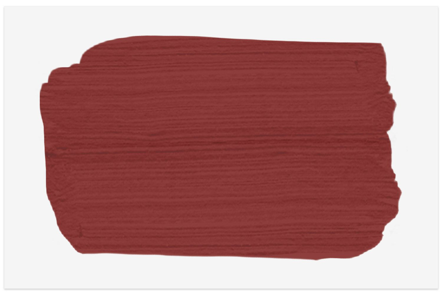 Carriage Red paint swatch from Behr