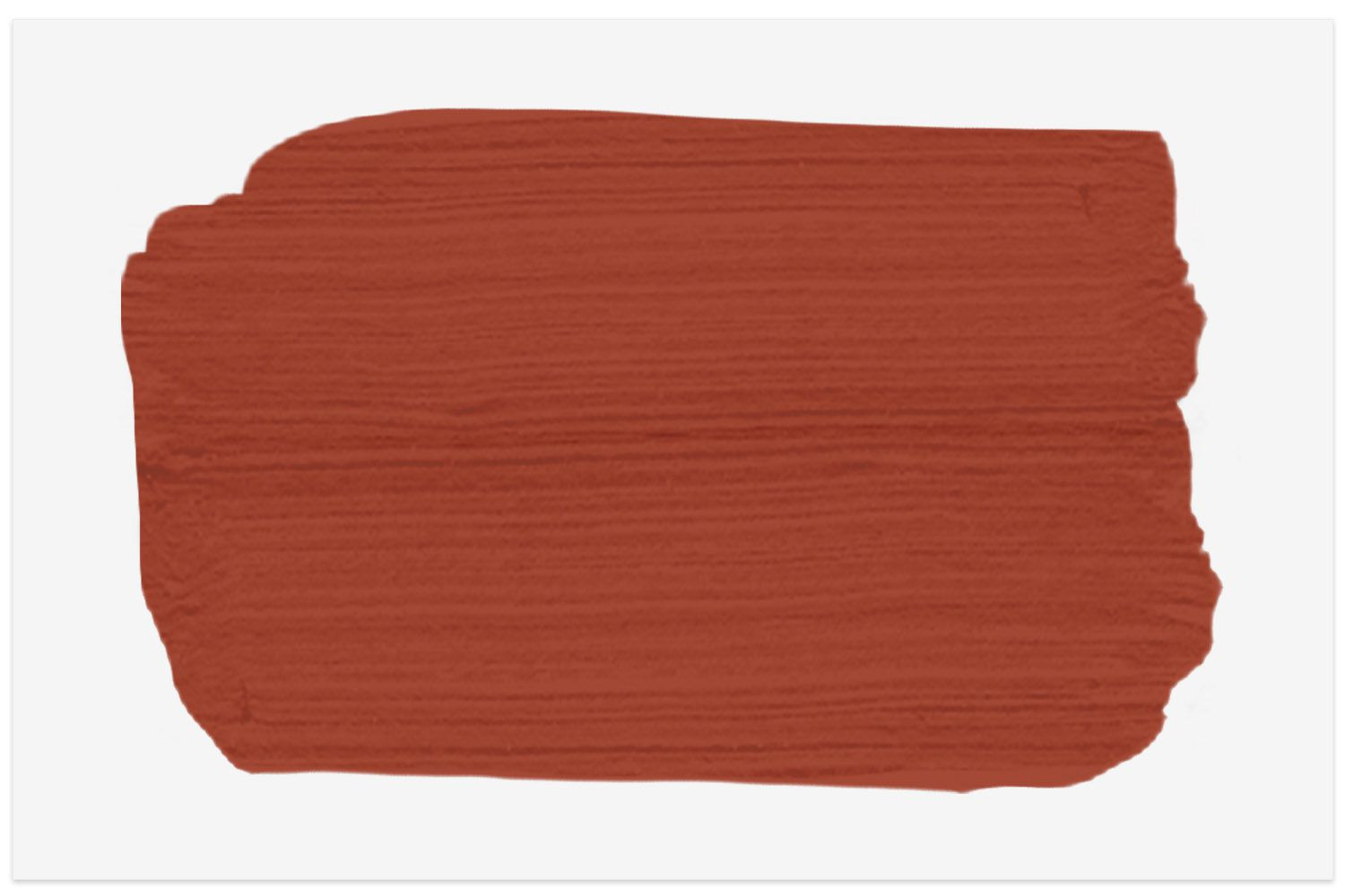 Rodeo Red paint swatch from Behr