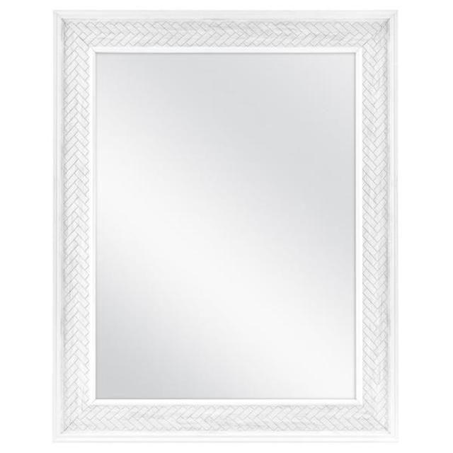 Home Decorators Collection Fog Free Herringbone Medicine Cabinet