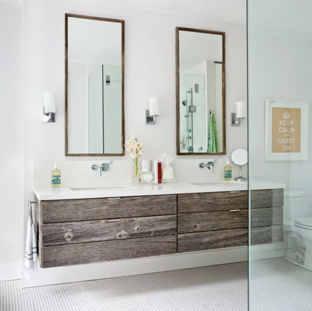 Wood Bathroom Vanities - All wood bathroom vanities