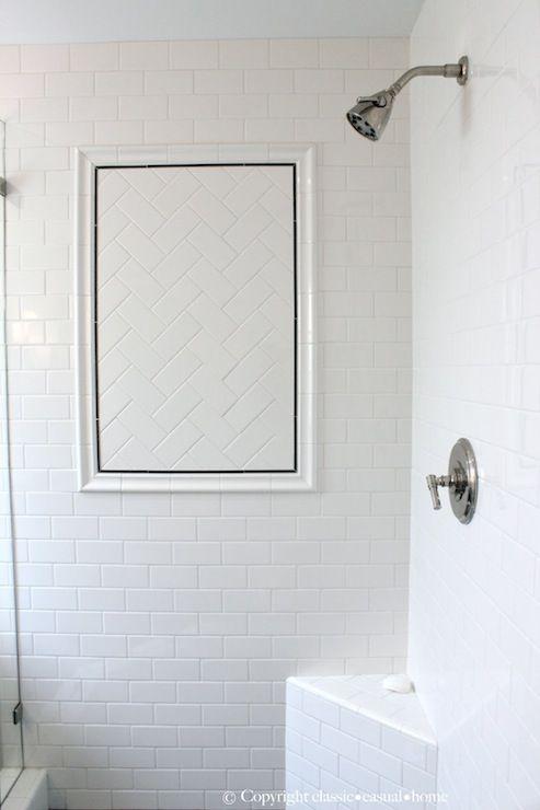 Beautiful Bathrooms With Subway Tile - Subway tile on bathroom floor