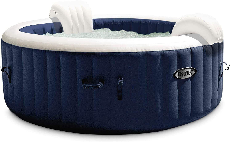 Intex PureSpa Inflatable Round Heated Hot Tub Spa