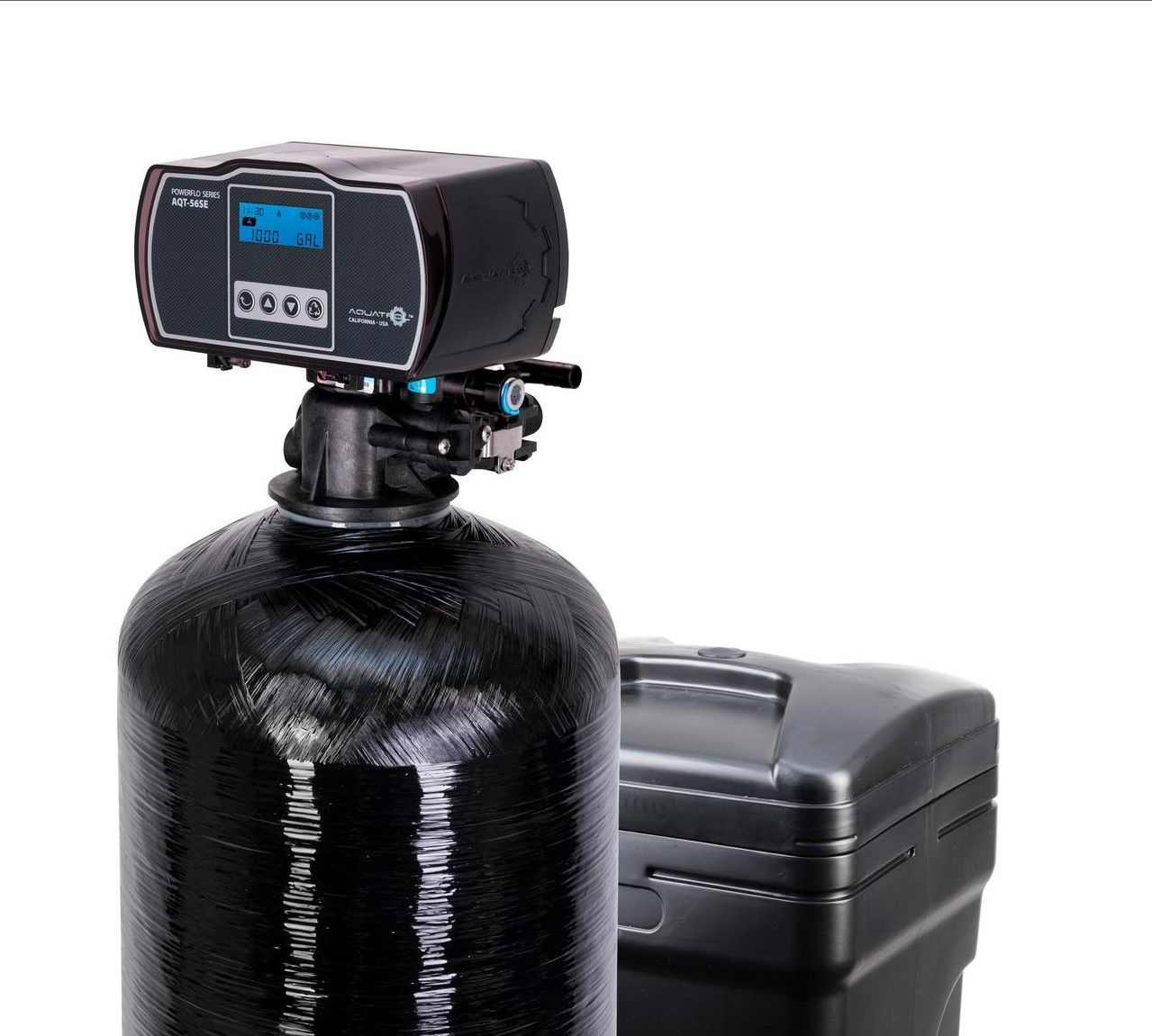 Aquasure Harmony Water Softener with Fine Mesh Resin for Iron Removal