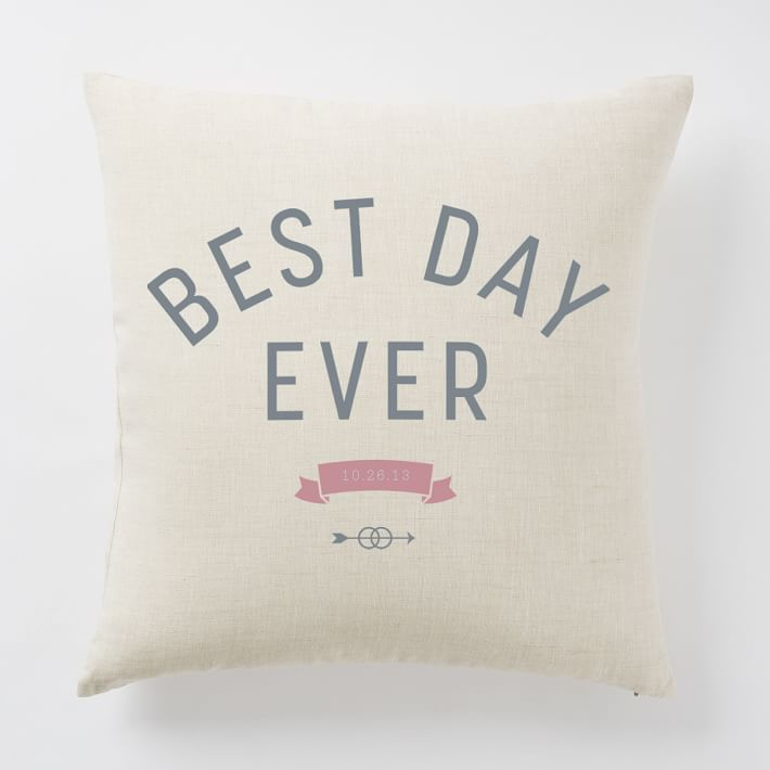 Happily Ever After Pillow Covers - Best Day Ever