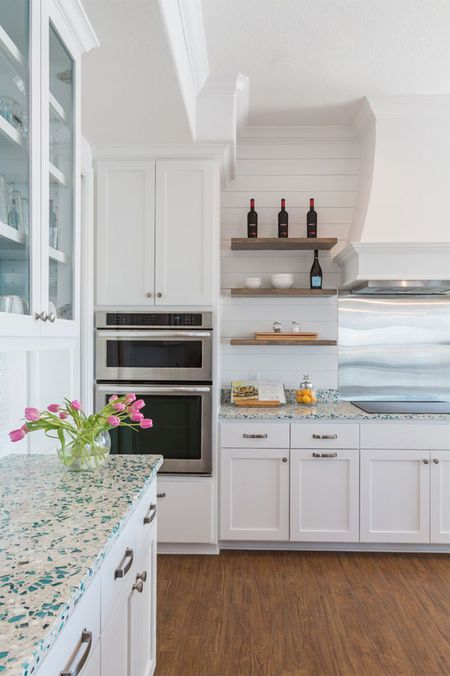 14 Kitchens With Recycled Glass Countertops