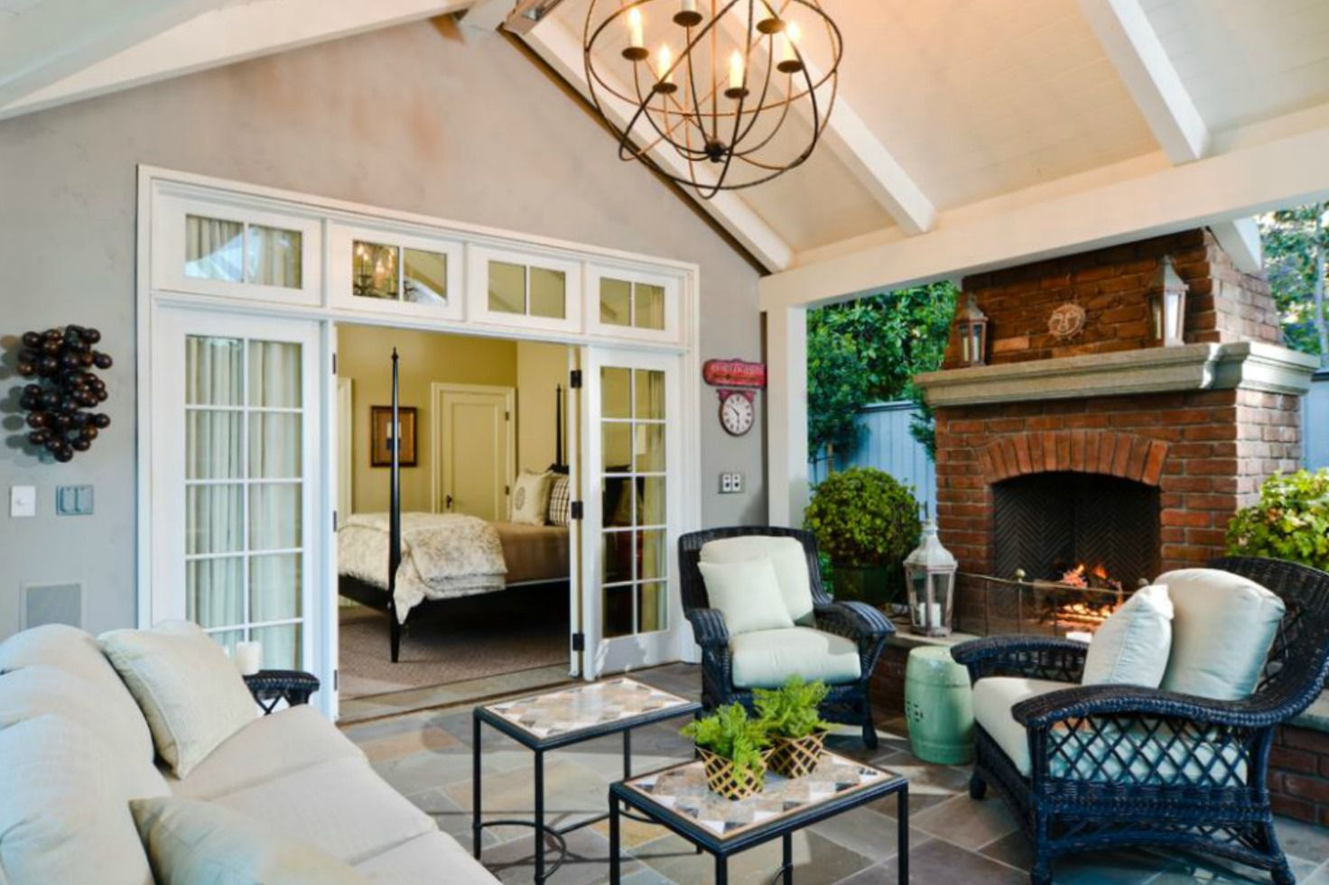 50 Outdoor Living Room Design Ideas