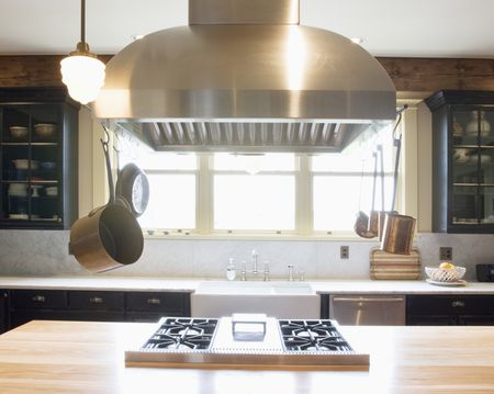 Kitchen Island With Cooktop Stove