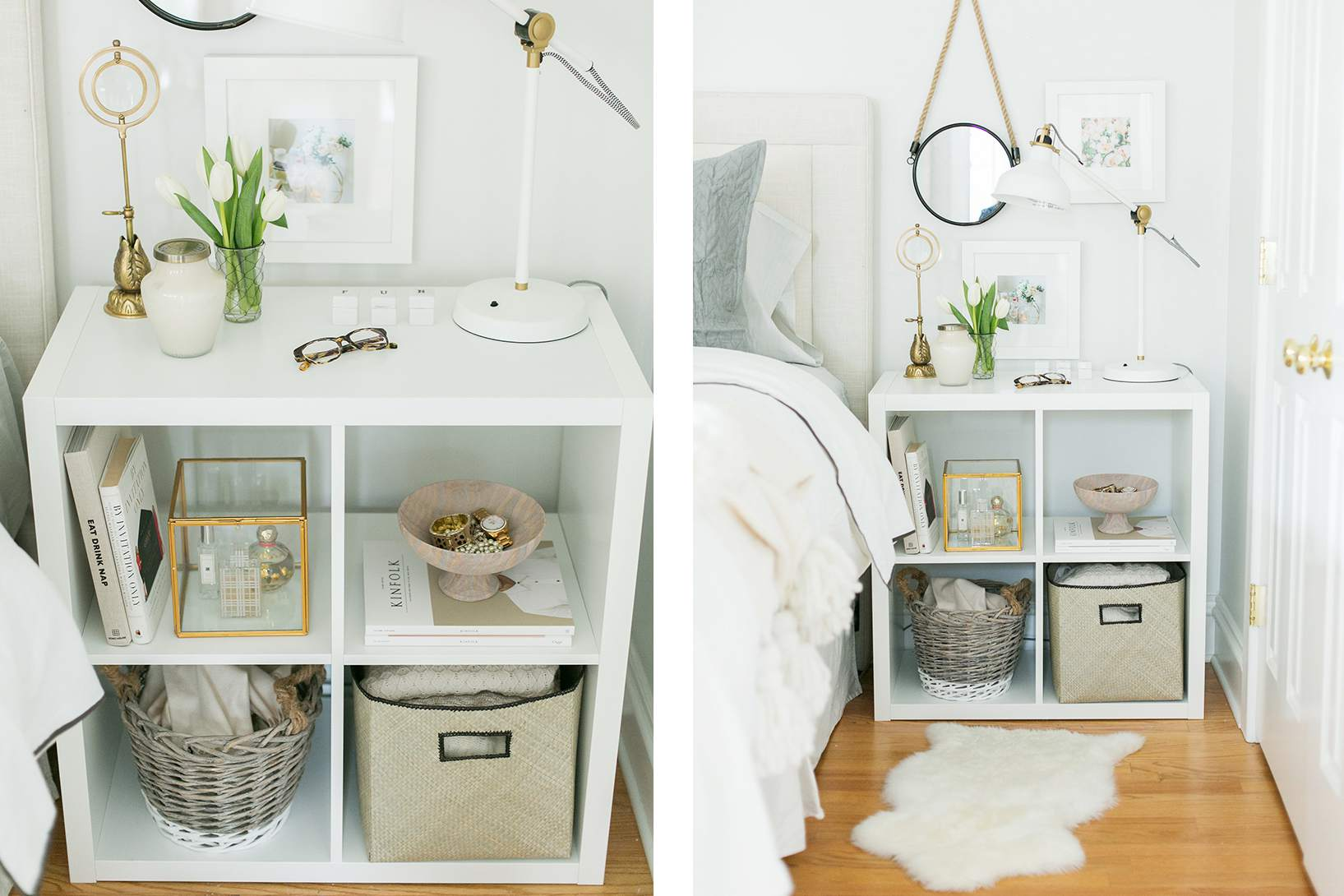 21 Best IKEA Storage Hacks for Small Bedrooms