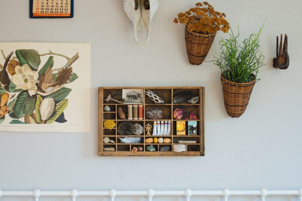 repurposed letterpress drawer