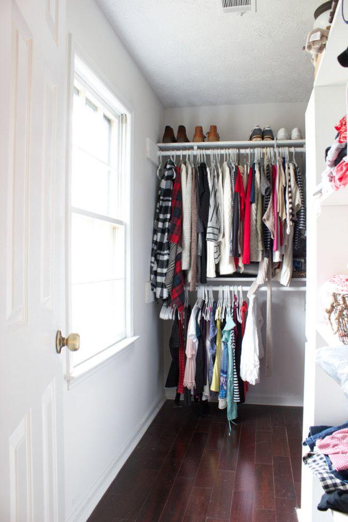 plain bedroom closet