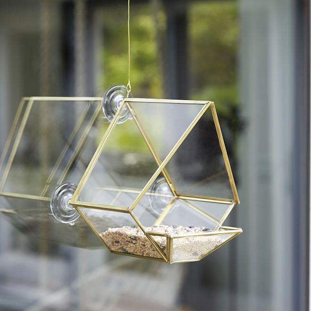 Glass House Bird Feeder