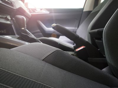 Car seat in the sunlight