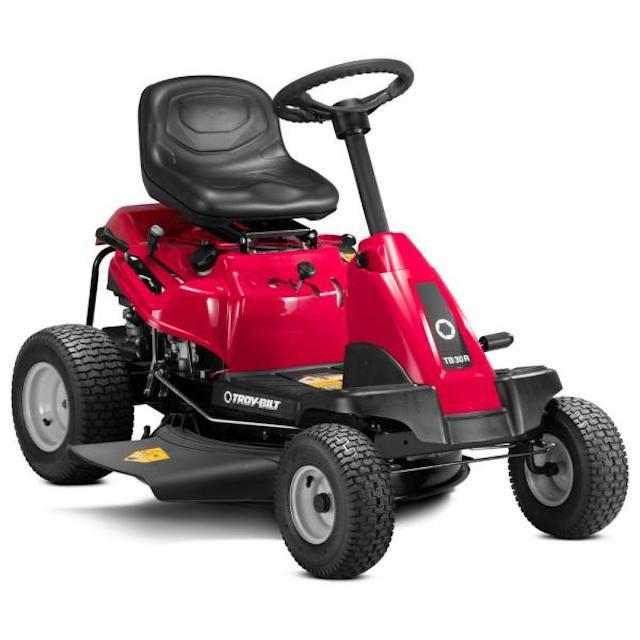 Troy-Bilt 30 in. Manual Drive Gas Riding Lawn Mower
