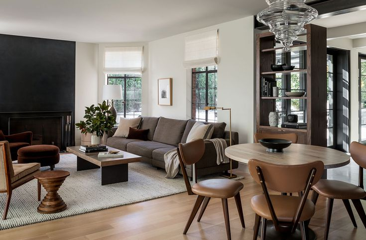 Living Room Dining Combos, Small Dining Room And Living Combo
