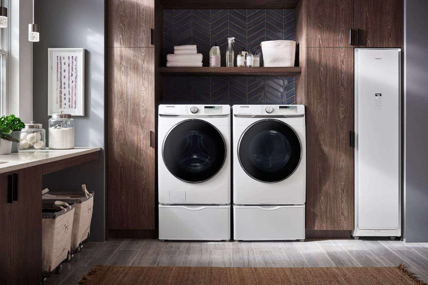samsung-high-efficiency-front-loading-washer-and-electric-dryer