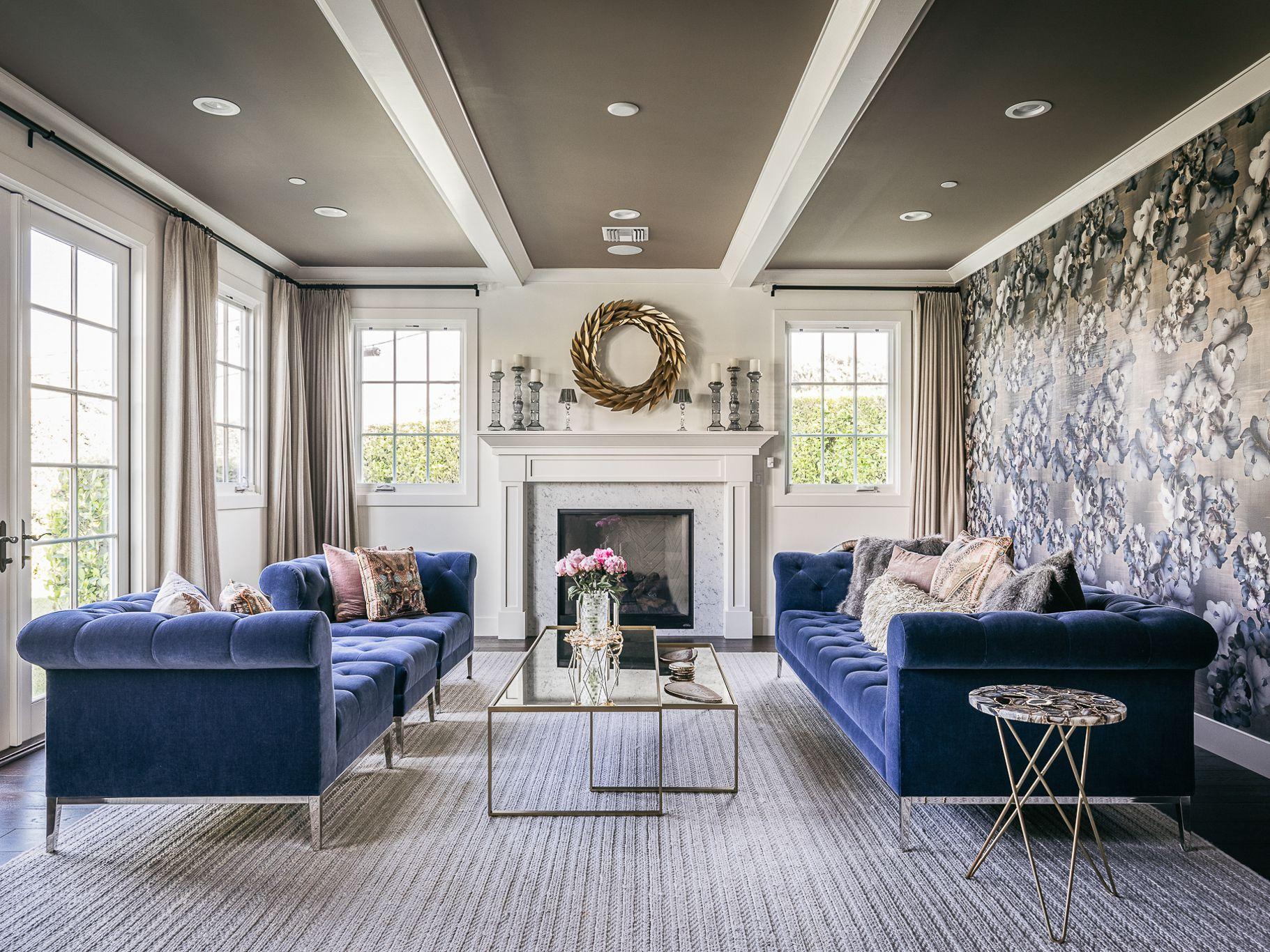 Beautiful Blue Living Room Ideas, Blue Living Room