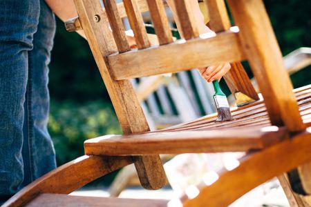 Inspirational Painting Treated Lumber White