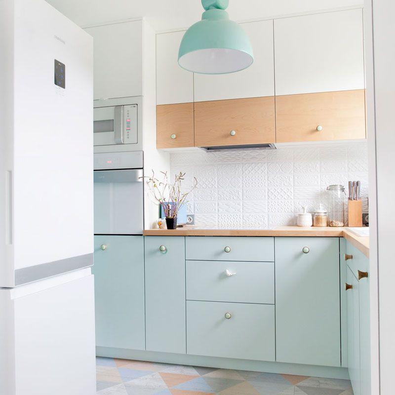 18 Pastel Colored Kitchen Ideas