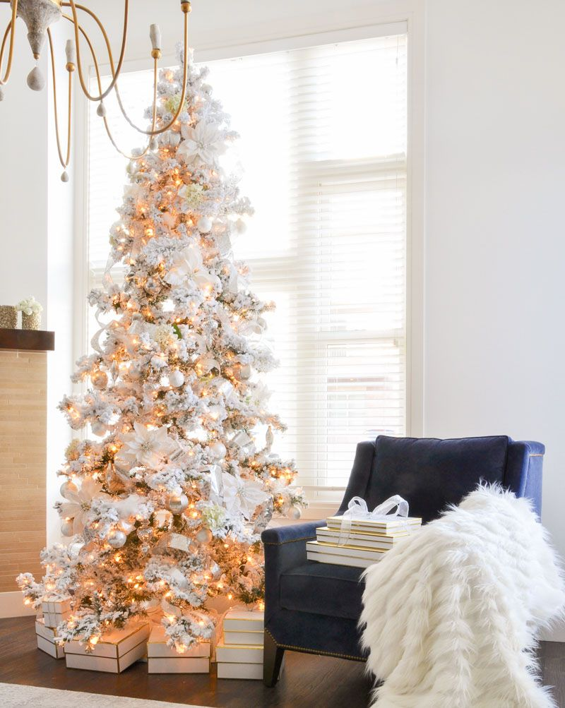 21 Beautiful Ways to Decorate the Living Room for Christmas
