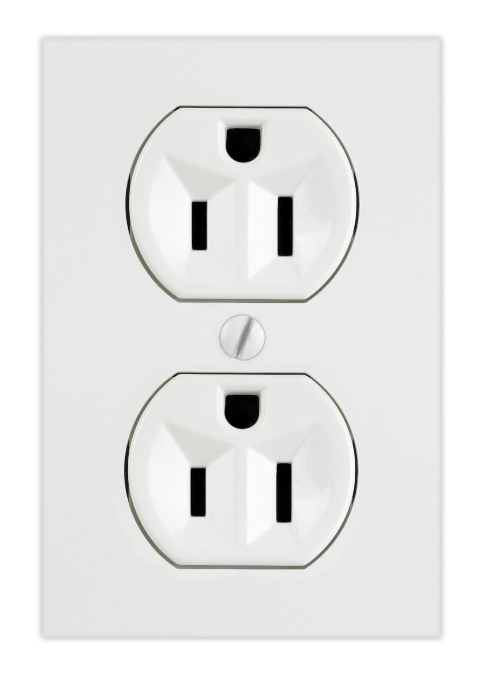 Upside-Down Electrical Outlet