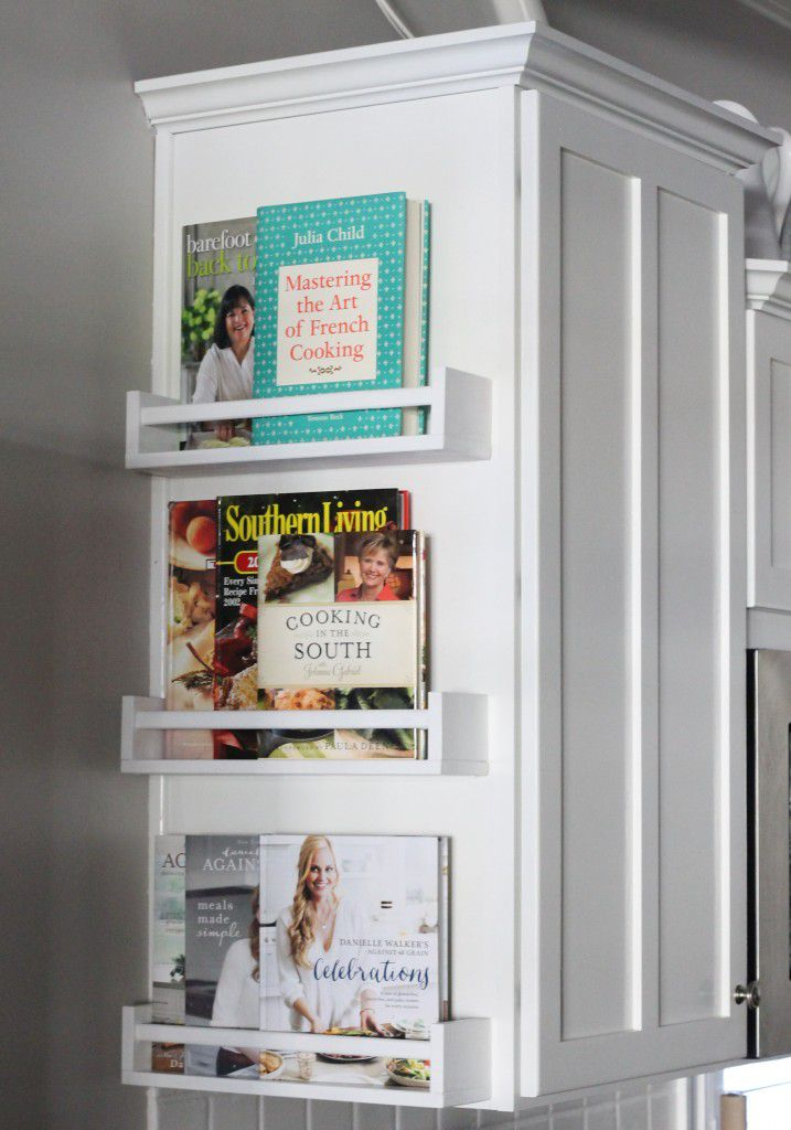 10 Stylish Cookbook Display And Storage Ideas