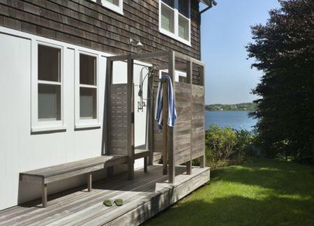 Lakefront Outdoor Shower