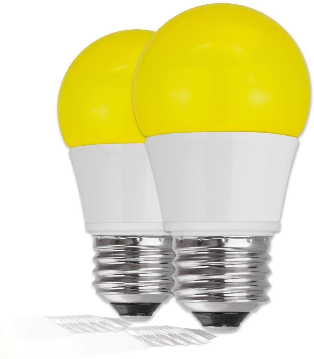LED Yellow Bug Light Bulbs