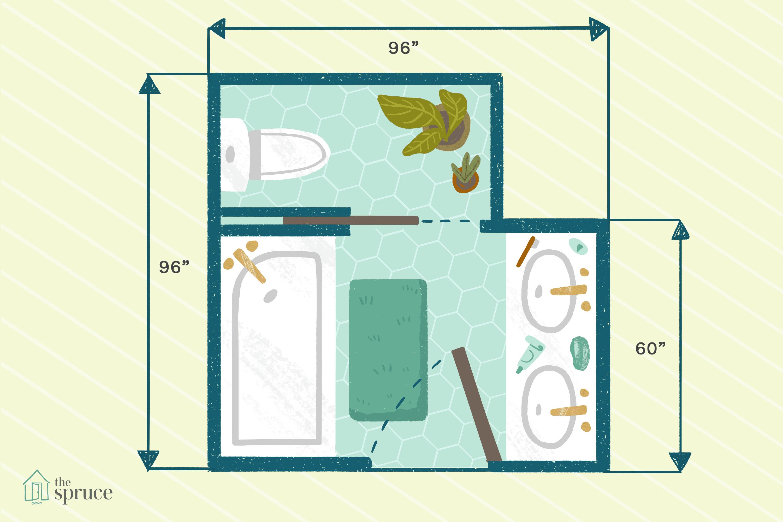 Bathroom Floor Plans 8x7 | Another Home Image Ideas