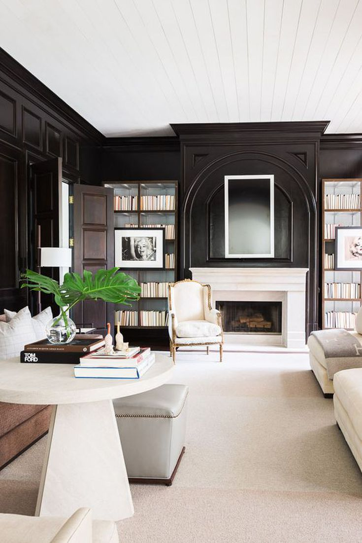 A designers guide to decorating in black and white