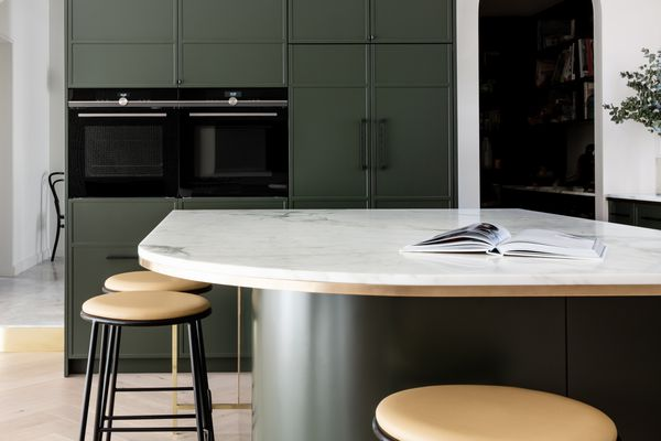 marble counter in a kitchen