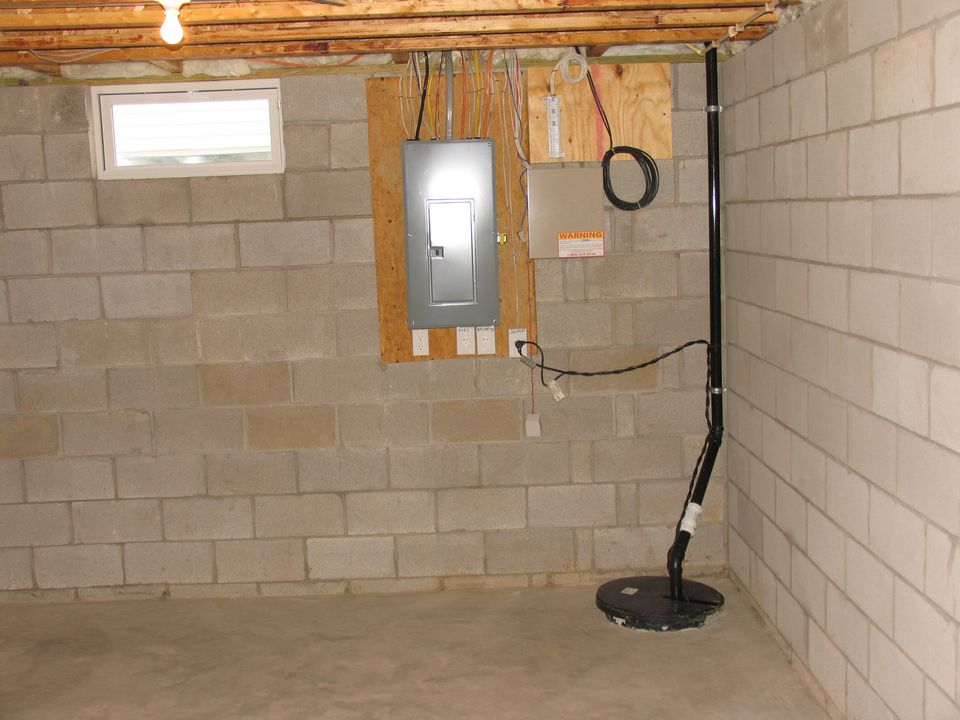 Beautiful Sump Pump for Basement toilet
