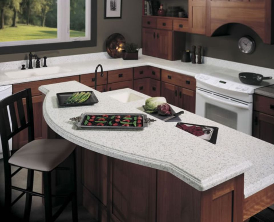 Wilsonart Bluestone Solid Surface Counters