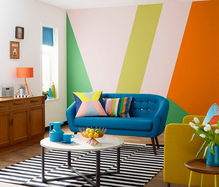 Colorful Mural Set Visions Photography