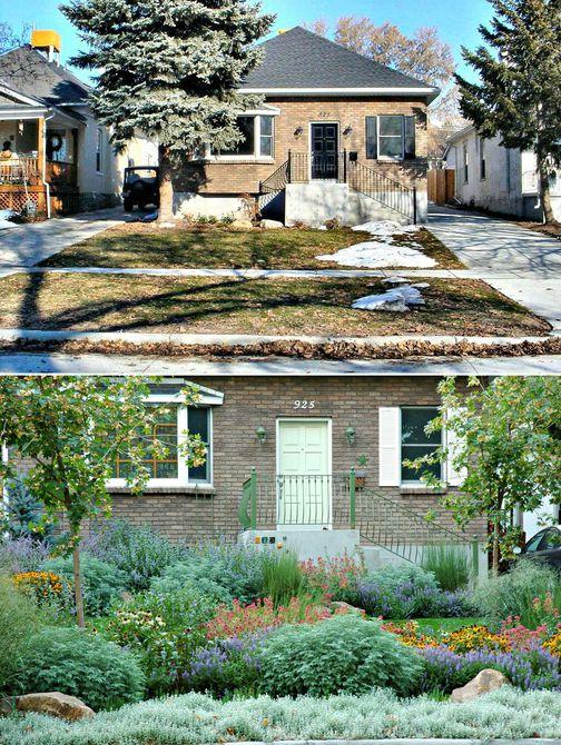 Antes y después: un bungalow en Salt Lake City