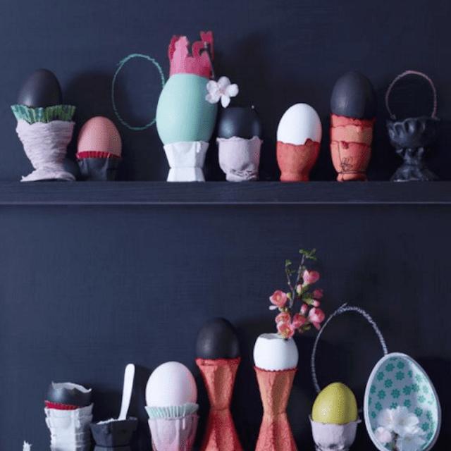 Easter Egg Shelf