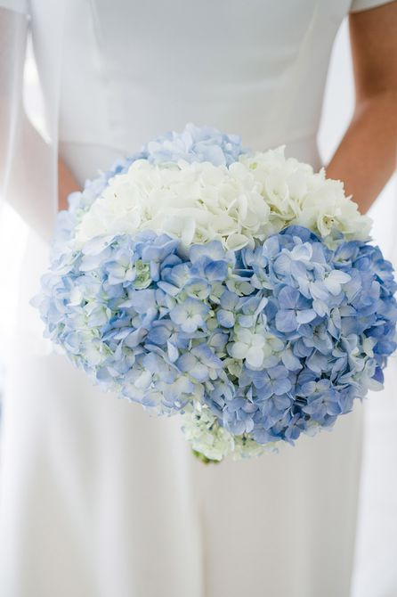 Bouquet de bodas de verano Hydrangea