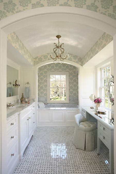 Pleasant 16 Gorgeous White Marble Bathrooms Download Free Architecture Designs Lukepmadebymaigaardcom