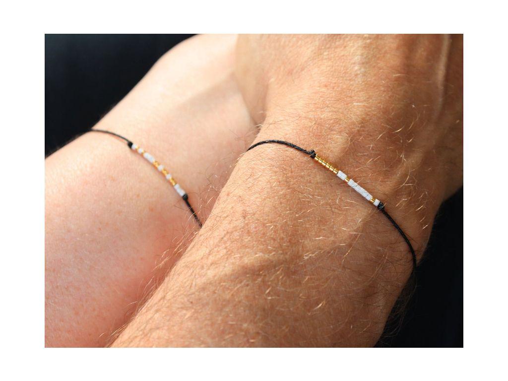 Always and Together Morse Code Bracelet