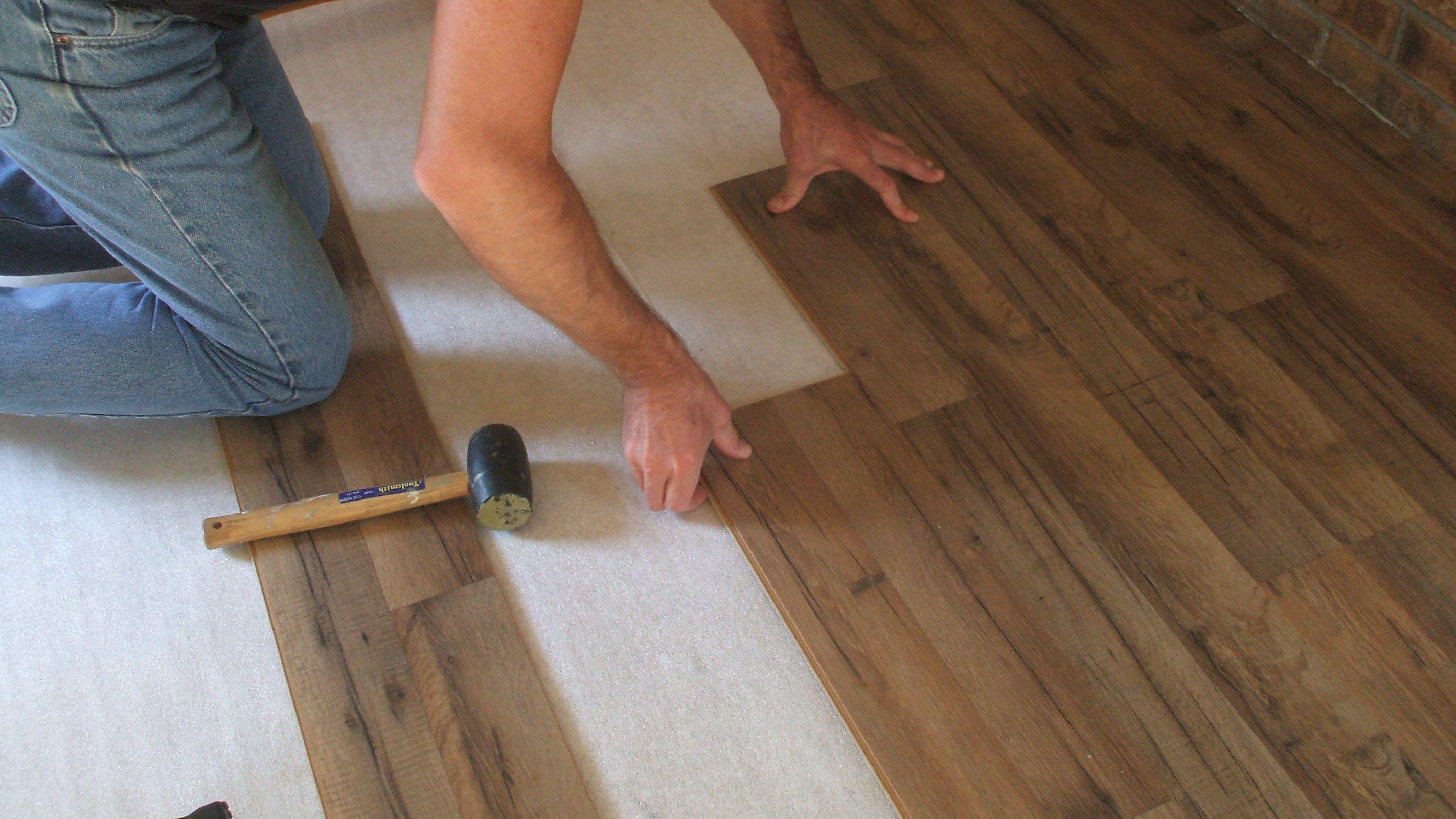 Wood Flooring Laminate Installation Kit Set Wooden Floor Fitting Tool Craft