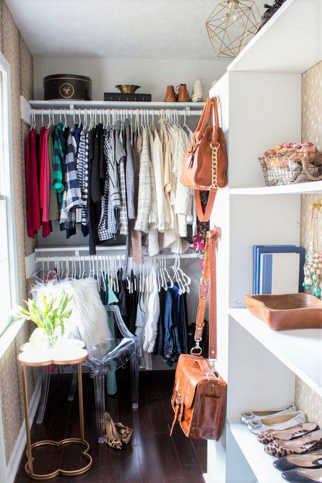plain closet makeover